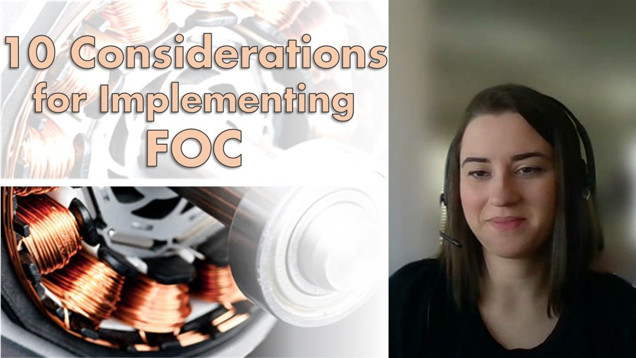 This video walks you through the various tasks required for designing and implementing field-oriented control, ranging from algorithm design to modeling and control tuning to deployment.