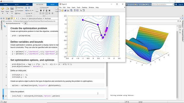 Solve linear, quadratic, conic, integer, and nonlinear optimization problems using Optimization Toolbox.