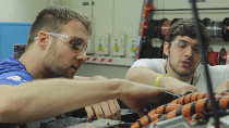 The Ohio State EcoCAR team uses MATLAB and Simulink for the entire development cycle of their car including optimization, design, build, and analysis.